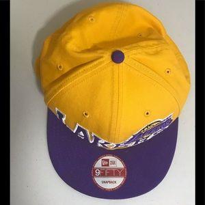 New Era Accessories - New Era Lakers SnapBack Hat
